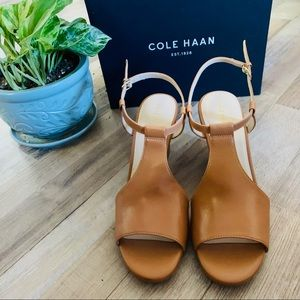 🆕🍎 Cole Haan   Maddie Open-Toe Wedge